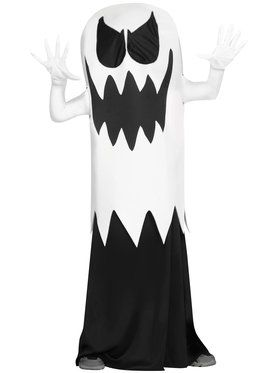 White Floating Ghost Boy's Costume