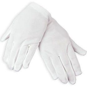 White Gloves for Halloween