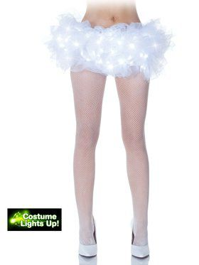 White Light Up Women's Tutu