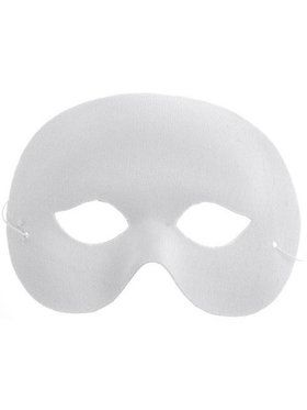 White Mardi Gras Mask