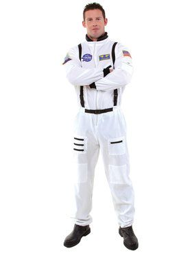 White Plus Size Astronaut Women's Plus Size Costume