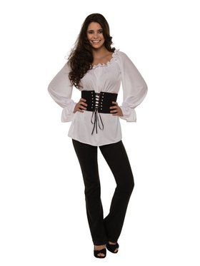 Renaissance White Blouse Women's Costume