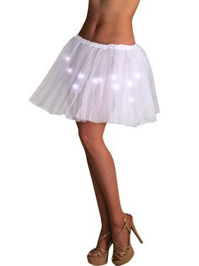 Light up White Tutu for Women