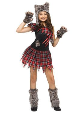 Werewolf halloween costumes at low wholesale prices for adults kids wickd wolfie costume for children solutioingenieria Choice Image