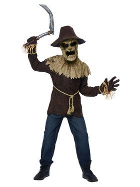 Wicked Scarecrow Costume for Children