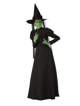 Spooky Witch Costume for Women