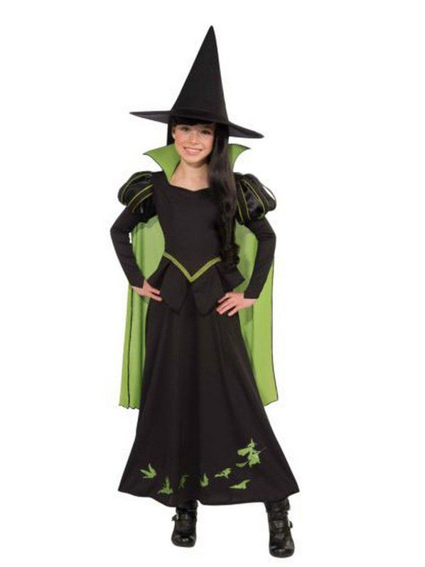 wicked witch kids costume