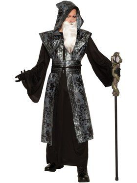 Wicked Wizard Plus Adult Costume