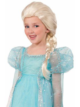 Child Princess Blonde Wig Accessory
