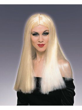 Wig Long Blonde Accessory