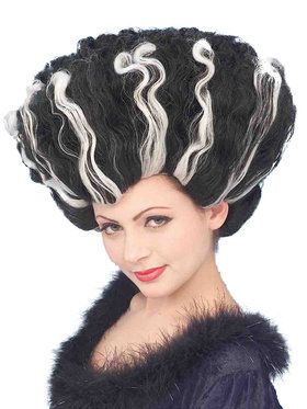 Monster Bride Deluxe Adult Wig