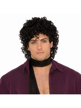 Rock Royalty Black Adult Wig