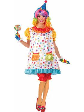 Wiggles the Clown Costume Womens Costume