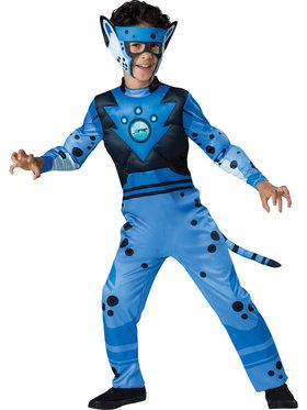 Wild Kratts Cheetah Quality Boys Costume