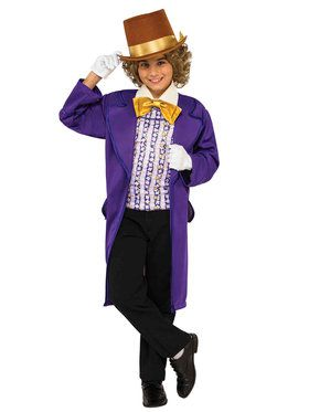 Willy Wonka Costume for Boys
