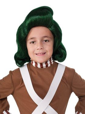 Willy Wonka the Chocolate Factory: Oompa Loompa Wig For Children