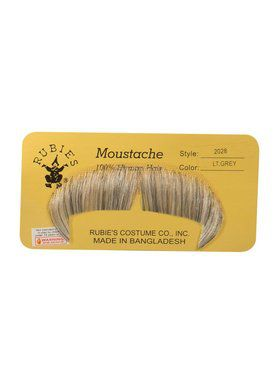 Light Grey Winchester Moustache