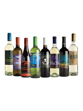 Wine Bottle Glow-in-the-Dark Stickers