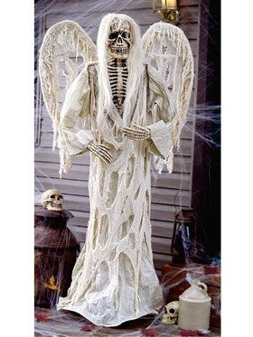 Winged Gruesome Skeleton Greeter