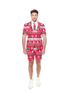 Winter Wonderland Mens Summer Opposuit for Halloween