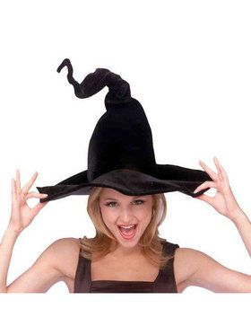 Wired Witch Hat For Adults