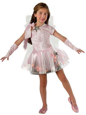 Wishing Fairy Light Up Costume for Girls
