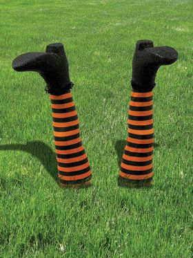 Witch Legs Outdoor Lawn Decoration