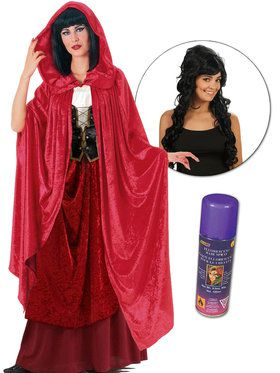 Witty Witch Hocus Pocus Movie Character Plus Kit