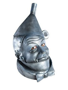 Wizard Of Oz Deluxe Tin Man Mask