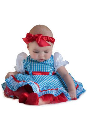 Wizard Of Oz Dorothy New Born Costume Toddler