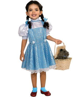 Wizard of Oz Dorothy Sequin Girls Costume