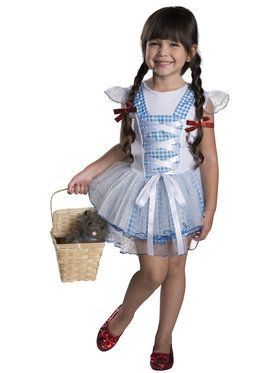 Wizard of Oz - Dorothy Tutu Girls Costume