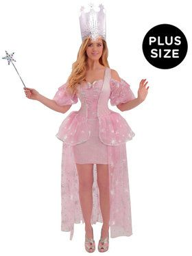 Wizard of Oz Glinda Adult Plus Costume