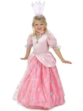 Wizard Of Oz Glinda Pocket Princess Girl's Costume