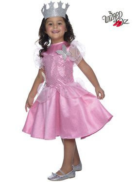Wizard of Oz Glinda Sequin Girl's Costume
