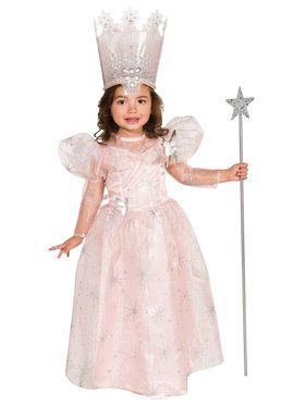 Wizard Of Oz-Glinda The Good Witch Deluxe Costume For Toddlers