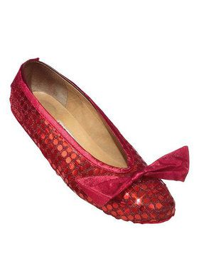 Wizard of Oz Red Sequin Adult Shoe Cover