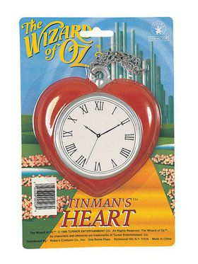 Wizard of Oz Tinman's Heart Clock