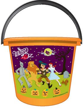 Wizard of Oz Trick or Treat Pail