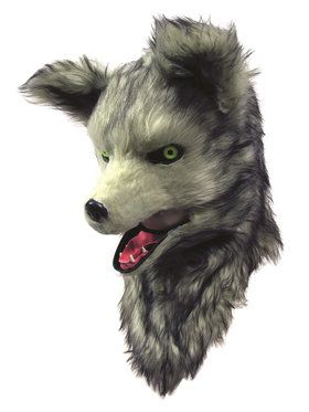 Wolf Mask with Moving Mouth For Adults