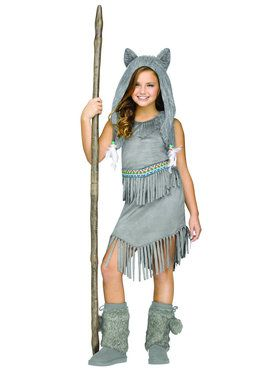 Wolf Dancer Girls Costume