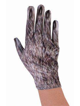 Adult Wolf Gloves