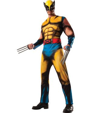 Wolverine Classic Muscle Men's Costume