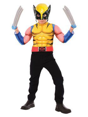 Wolverine Dress Up Costume Set