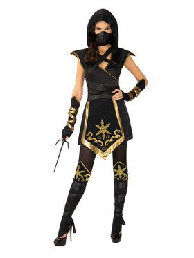 Ninja Mystique Costume for Women