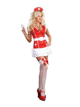 Womans Sexy Vital Signs Costume
