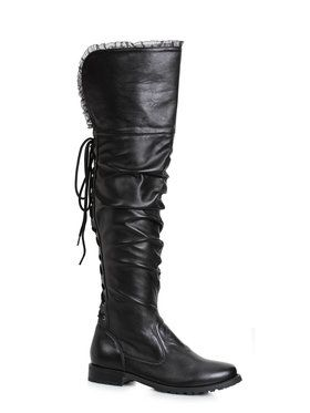 Womens Knee High Pirate Boots