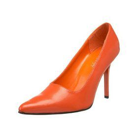 "Classic 4"" Orange Pump"