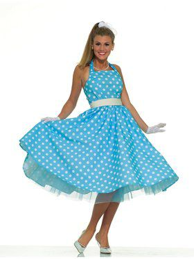 50'S Prom Dress Womens Costume