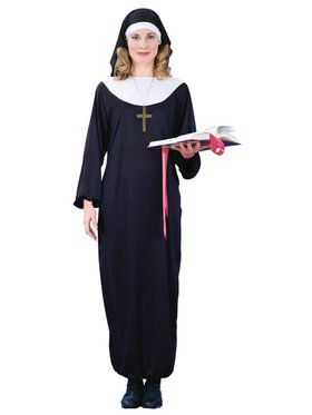 Nun Adult Womens Costume